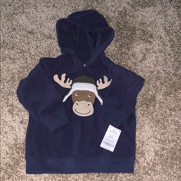 Carter's Other - Reindeer Hoodie 24 months NWT